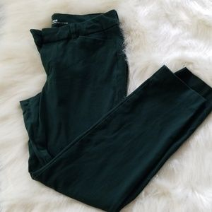 Old navy hunter green Pixie pants